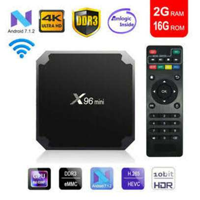 X96 Mini 2GB RAM 16GB ROM WiFi Android Streaming TV Box image 1