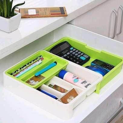 Cutlery drawer organizer image 2