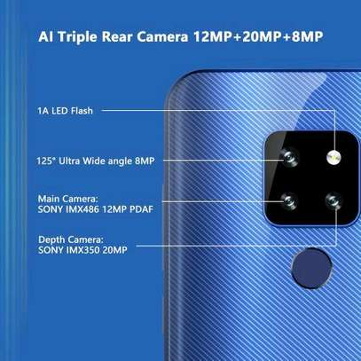 Cubot P30, 6.3, 4GB + 64GB, 12MP+20MP+8MP+13MP, Android 9.0, (Dual SIM), Black image 2