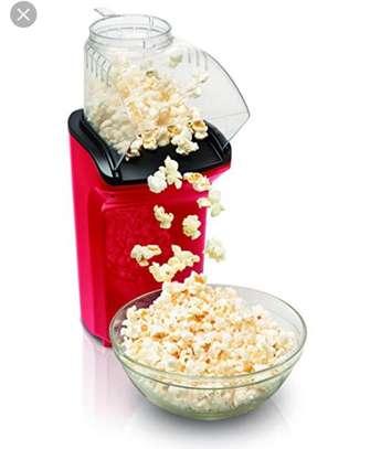 Electric mini pop corn maker oil free