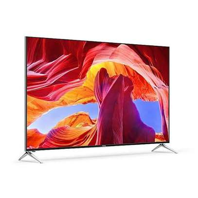 Syinix 55 inches UHD-4K Android Frameless Smart Digital TVs image 1