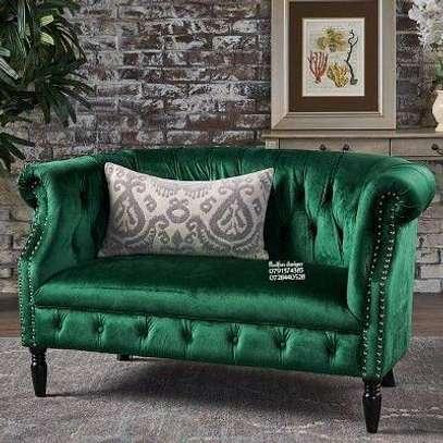 Modern sofas/ classic green sofa image 1