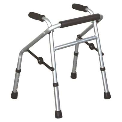Pediatric folding walkers with height adujstable image 1