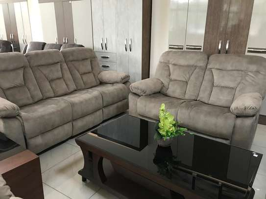 Affordable fabric recliner sofa sets image 3