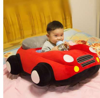 baby Car Sitting Children's Sofa,Plush Baby Sitting Learning Kid's Chair Floor seat Infant positioner Anti-Fall and Rollover Children's Furniture for Kids 3-18 Months image 8