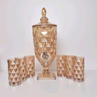 Wine decanters with glasses image 5