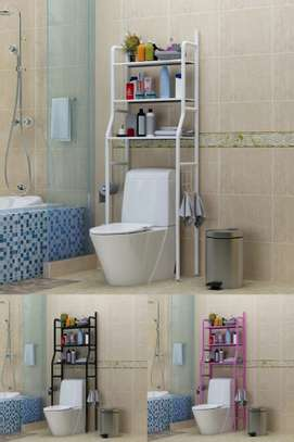 3 Tier Multi-Purpose / Toilet Storage Rack/Shelf image 1