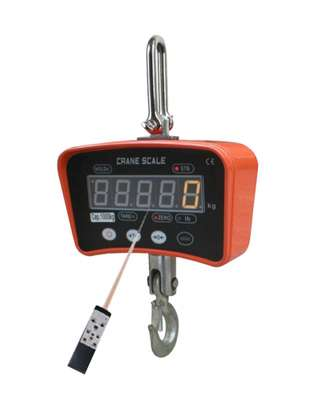 1 ton  rechargeable crane scale. image 1