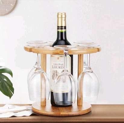 Wooden wine holder image 1