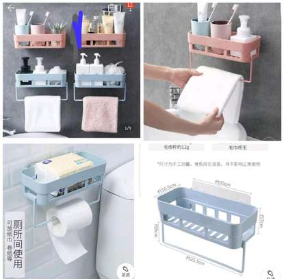 Bathroom wall mount organizer image 2