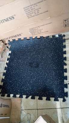 Interlocking Rubber Flooring Gym mats image 6