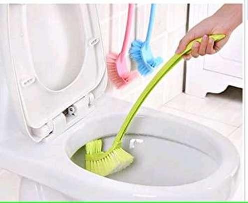 2 sided toilet brush + holder image 4