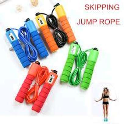 Skipping Rope With Digital Jump counter image 1