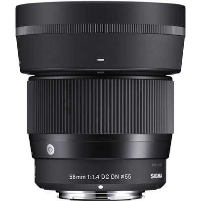 Sigma 56mm f/1.4 DC DN Contemporary Lens for Sony E image 1