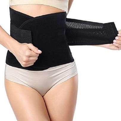 Body Shaper postpartum girdle/ waist trainer / corset belt/ tummy trimmer / slimming belt image 1