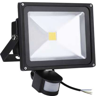 30W PIR motion sensor LED flood light image 1