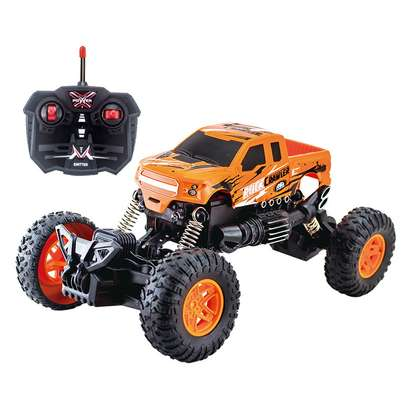 Children's remote control toy rock climber car image 9