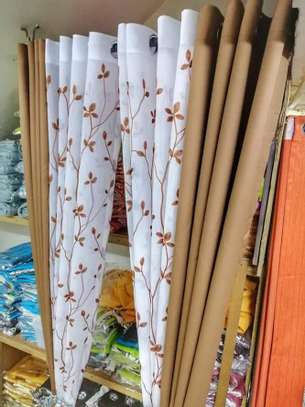 Curtains that Blends With Sheer image 2