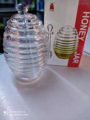 Honey Container With lid image 3