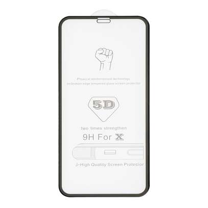 5D Full Coverage Tempered Glass Screen Protector for iPhone X/Xs iPhone XR iPhone XS Max image 2