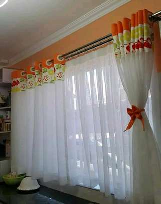 Kitchen curtain and curtains