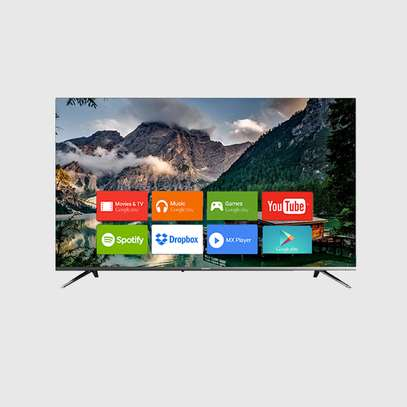 50 inch Vision Plus 4K UHD Smart Android TV - Frameless  + FREE Wall Mount + 30 Days FREE Showmax image 1
