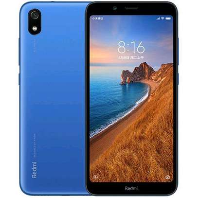 Redmi 7A 5.45 Inch 3+32GB Octa Core 4000mAh Battery Smartphone - Blue image 1