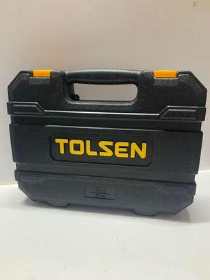 "Tolsen 45Pcs Socket set 1/4"" and 1/2"" image 2"