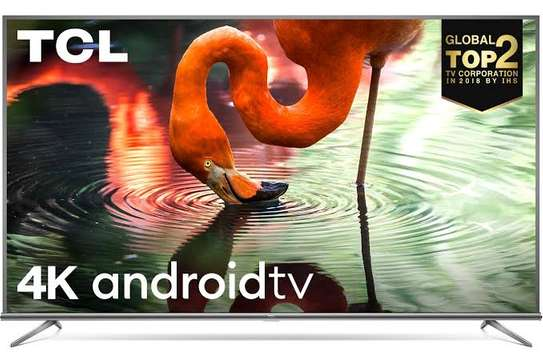 New TCL 50 inches Android Smart Digital 4K Tvs 50p8M image 1