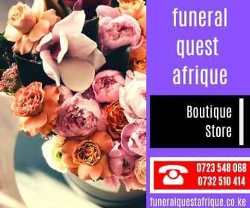 Customized A4 Funeral Programs image 3