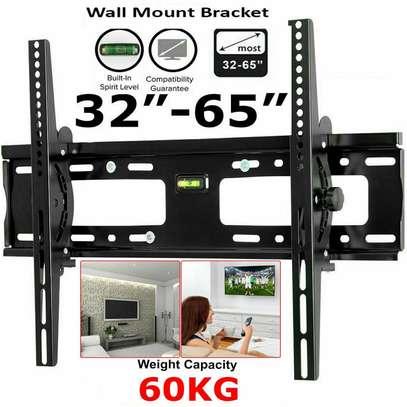 TV Bracket Tilt TV Wall Mount Bracket with Built-In Tri Spir image 3