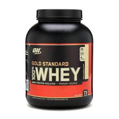 Whey protein gold standard (5lbs) image 1