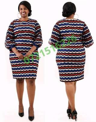 Colourful dress image 1