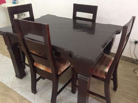 4 Seater Hardwood Dining Table