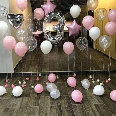 Balloon Garland and balloon decor image 15