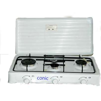 Conic 3 Gas Burner Table Top Cooker
