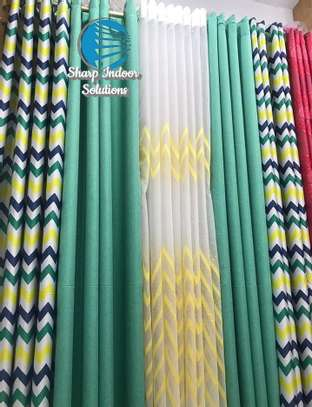 decorative double sided curtains image 3