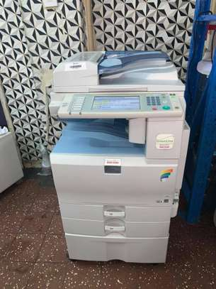 Ricoh aficio Mp C2050 photocopier printer scanner machine image 1