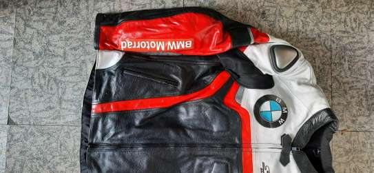 BMW Cowhide Leather Motorcycle Jackets image 3