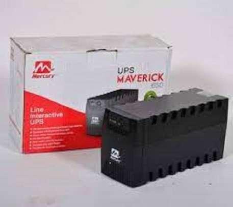 mercury 650 va back ups battery image 1