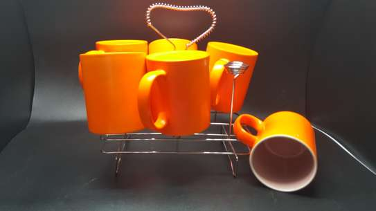 6 Pc Standard Color Mug image 1
