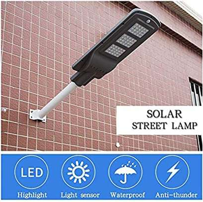 60 W Solar Powered Streetlight with Motion Sensor and Photocell image 1