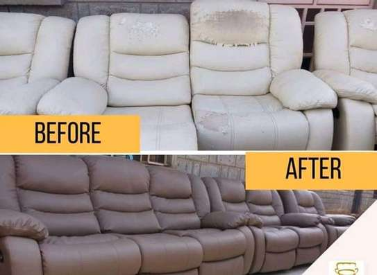 Repair/Reupholstery of Recliner sofas(Imported) image 8