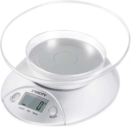 Digital Bowl Scale for Baking and Cooking image 1