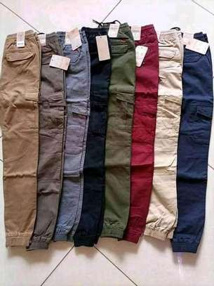Cargo pants for ladies and kids image 1