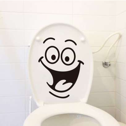 Toilet seat stickers Decals image 2