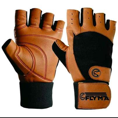 Weight lifting gloves image 1