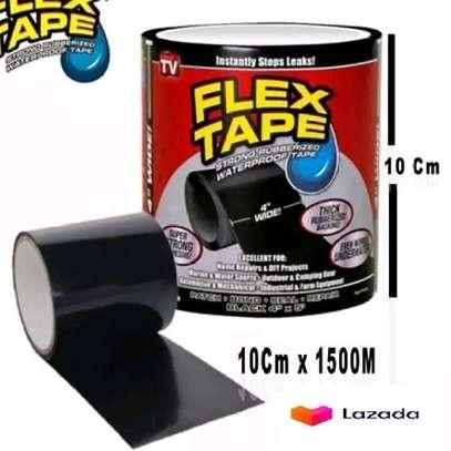 Flex Tape Waterproof Adhesive Repair Rubberized Tape image 4