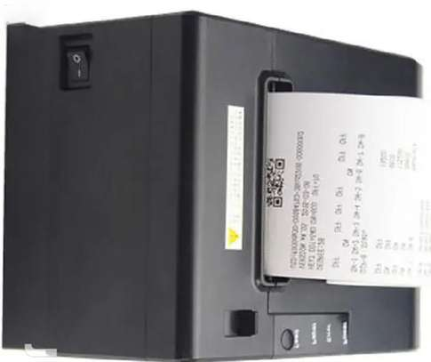 80mm Thermal Receipt Printer With Both Usb + Ethernet Port image 1