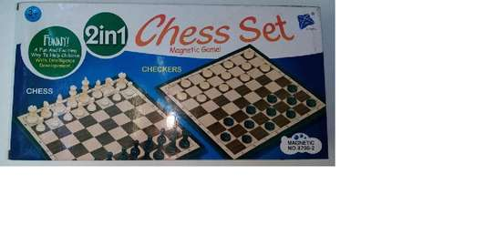 2 in 1 Chess Set Board Game image 1